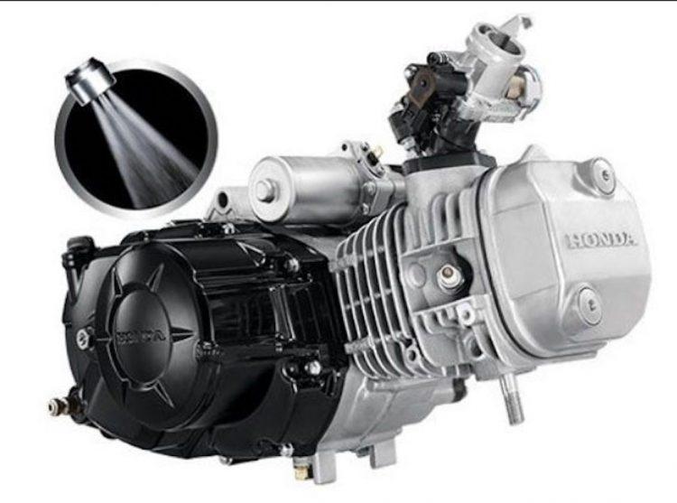 Động cơ của Honda Wave 110