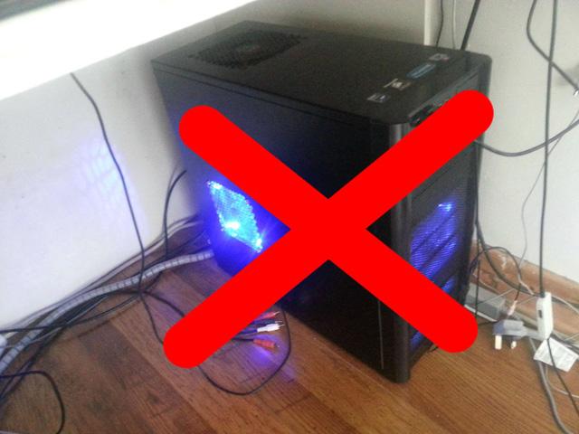 lý do máy tính hư