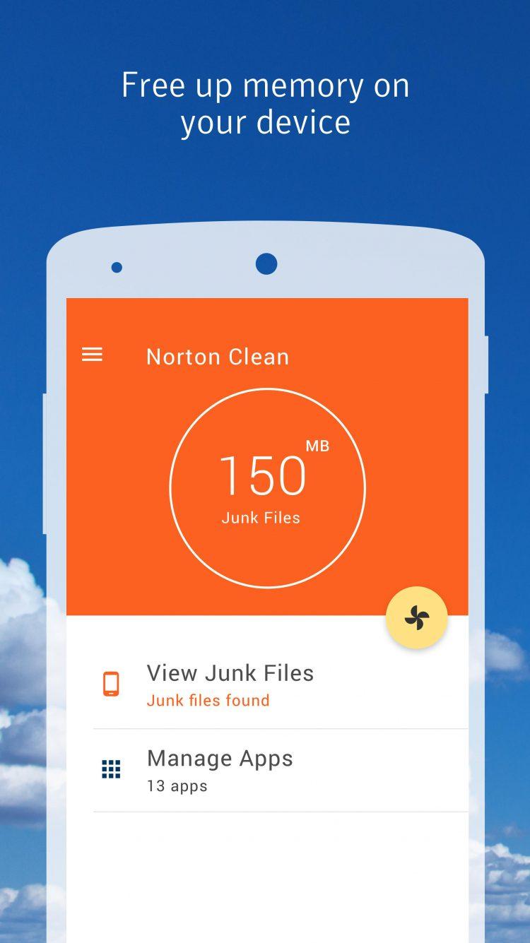 Ứng dụng Norton Clean